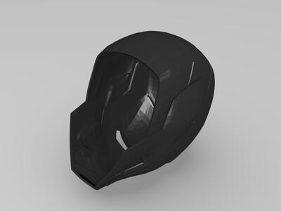钢铁侠50头盔-3d打印模型