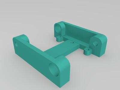 写字机套件-3d打印模型