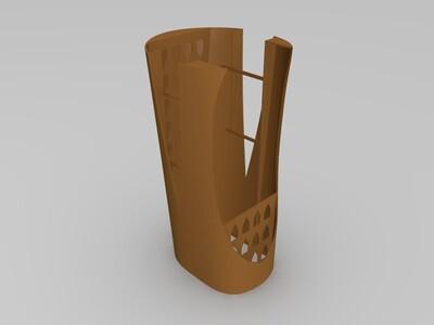 3d打印飞机模型-3d打印模型