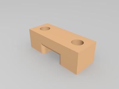 可折叠收藏和便于携带的3D打印机4-2-3d打印模型