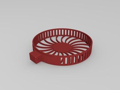 散热风扇-3d打印模型