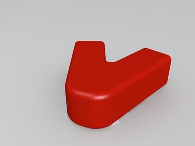 风筝骨架-3d打印模型