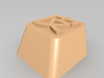 机械键盘键帽,一个字:皮~-3d打印模型