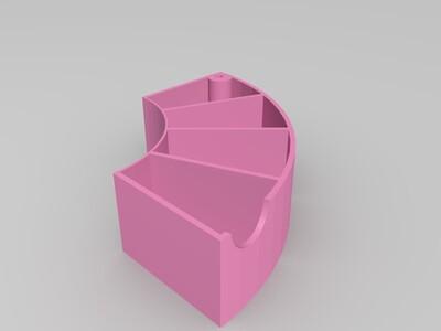 PLA材料料盘处理利用,废品利用-3d打印模型
