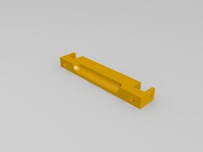 悬臂打印机Y轴前后限位加强锁定件-3d打印模型
