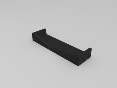悬臂打印机电源模块专用固定加强件-3d打印模型