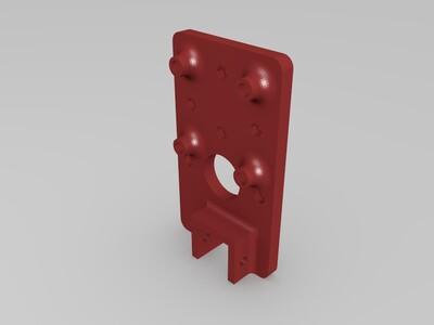 2020型材版激光雕刻机DIY-3d打印模型
