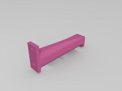 Anycubic 4MAX 料架替代件-3d打印模型
