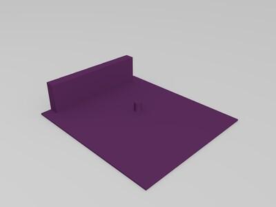 弹出方形篮子-3d打印模型