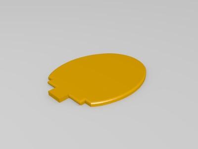 迷你马桶-3d打印模型