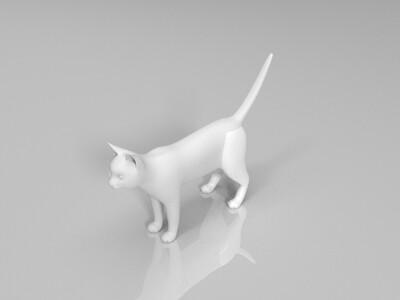 猫-3d打印模型