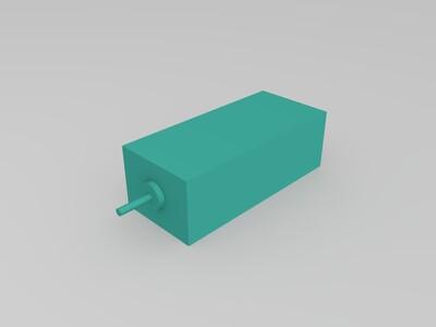 """GE90""涡扇模型-3d打印模型"