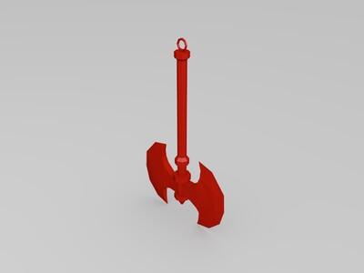 斧头-3d打印模型