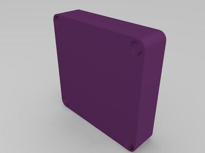 水泵 Arduino nano Oled 编码器控制盒-3d打印模型