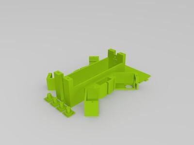 Arduino 四脚机器人-3d打印模型