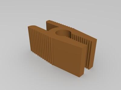 热床夹子-3d打印模型
