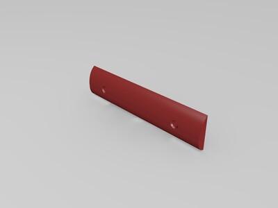 狗腿刀-3d打印模型