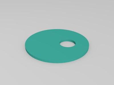 蓝牙音箱外壳-3d打印模型