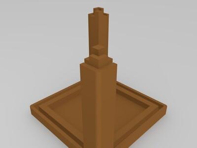 3D照片相框-3d打印模型