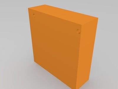 au home spot cube路由器外壳-3d打印模型
