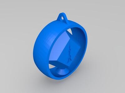地标纪念饰品-3d打印模型