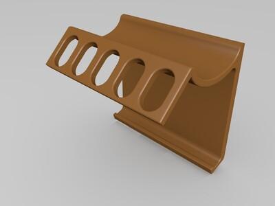 牙刷牙膏架-3d打印模型