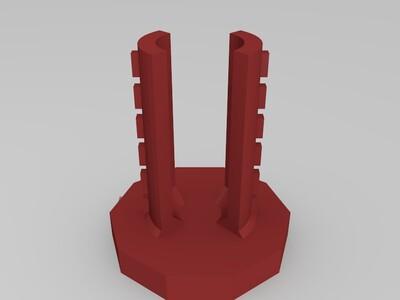 可调密码锁 表白神器 机关-3d打印模型