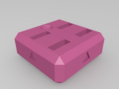 U盘存放器-3d打印模型