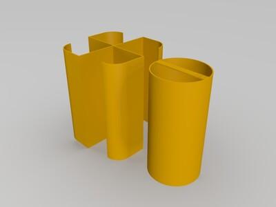 loook-sla变形测试件-3d打印模型