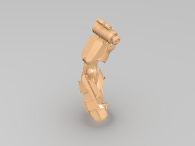 变形金刚 擎天柱 高精度模型-3d打印模型