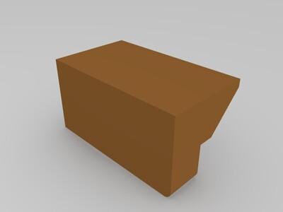 桌面收纳盒-3d打印模型