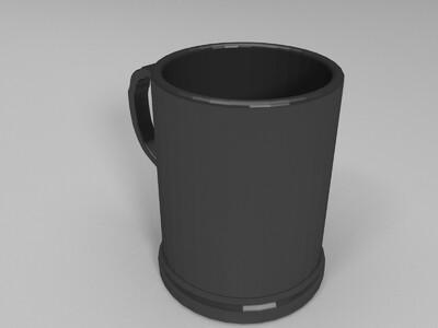b杯子-3d打印模型