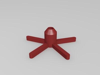 飞轮机械装置-3d打印模型