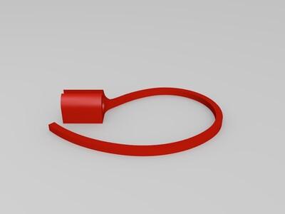 iphone耳机挂架-3d打印模型