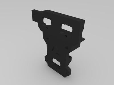 Prusa i3 修改过的打印件-3d打印模型