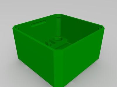 OTTO机器人bodyV6增加矩阵灯位置-3d打印模型