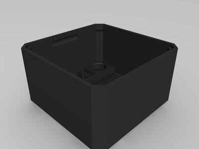 OTTO机器人headV6增加充电插孔 -3d打印模型