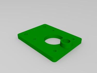i3  z轴改进电机座-3d打印模型