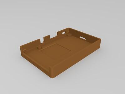 树莓派3B外壳-3d打印模型