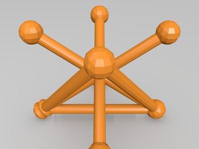 测量标定基准-3d打印模型