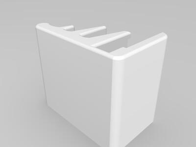 手机充电底座-3d打印模型