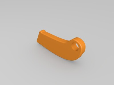 美工刀手柄-3d打印模型