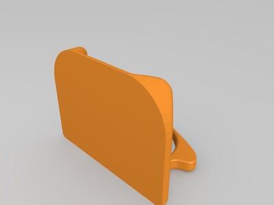 乘车卡 的 指扣-3d打印模型