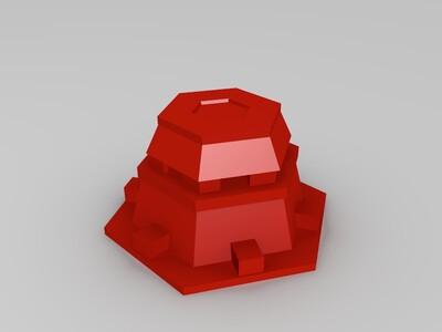 红警战斗碉堡-3d打印模型