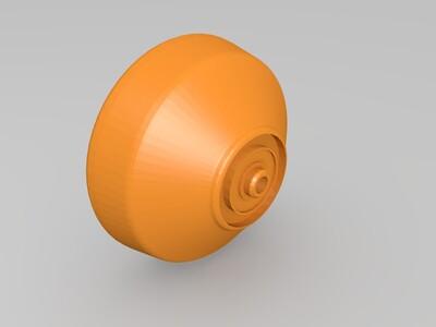 可以玩花式的悠悠球-3d打印模型