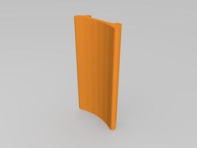大拇指受伤用夹板-3d打印模型