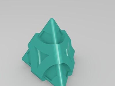 第五人格的四面骰子子-3d打印模型