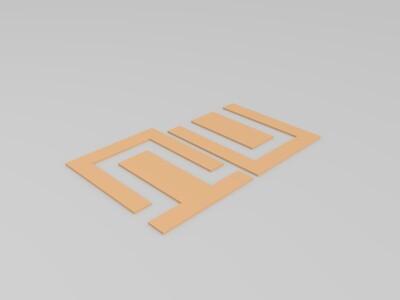 纪念碑谷-图腾-3d打印模型