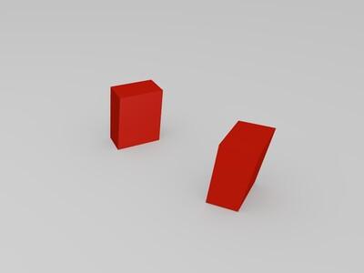 Lowpoly杰尼龟拼装版-3d打印模型
