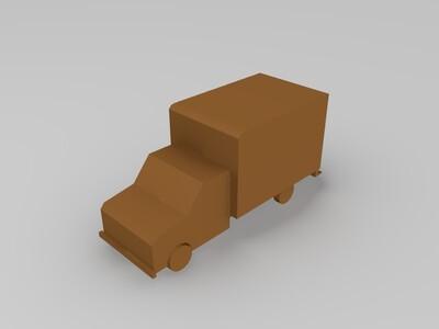 货车-3d打印模型